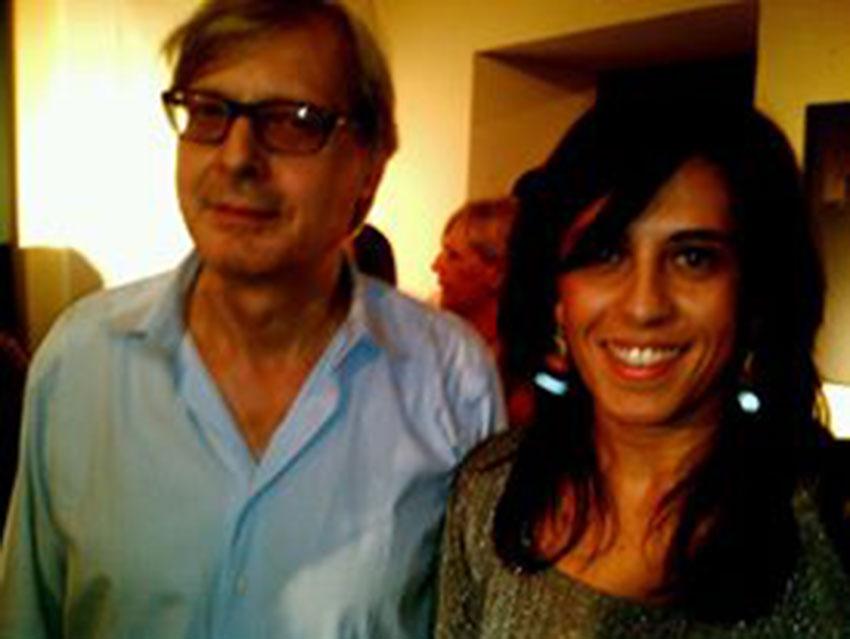 Con Vittorio Sgarbi